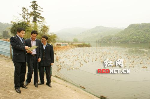 舜华鸭业公司和临武鸭养殖农场。