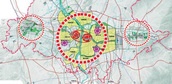 020年 长沙规划区4960平方公里图片