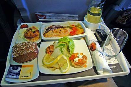 围观各航空公司飞机餐(组图)