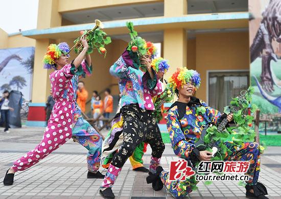 小丑 长沙世界之窗/(活泼的小丑,也很受游客们喜欢。)