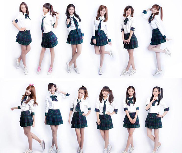中国山寨美少女团体