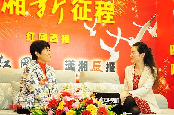 党代表张国庆同志作客红网嘉宾访谈室