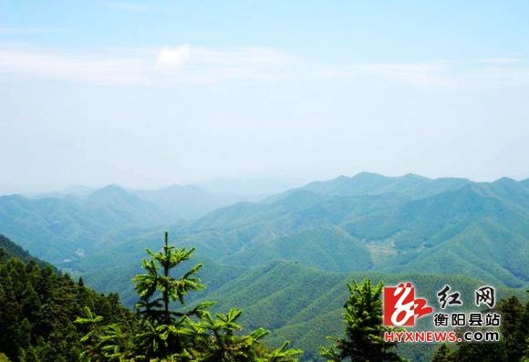 (九峰山远景); (九峰山远景; 九峰山森林公园简介-衡阳县溪
