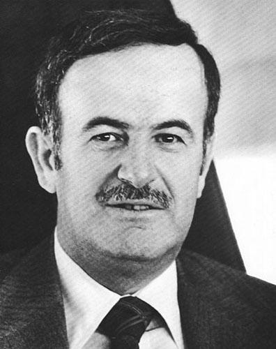 叙利亚现总统巴沙尔·阿萨德之父、前总统哈菲兹·阿萨德(资料图片
