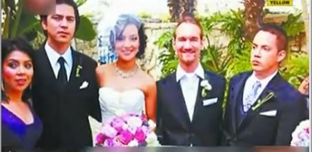 视频澳大利亚无四肢勇士尼克迎娶亚裔新娘