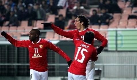 最终经过90分钟的激战,广州恒大客场5比1击败全北现代,取得亚冠开门红