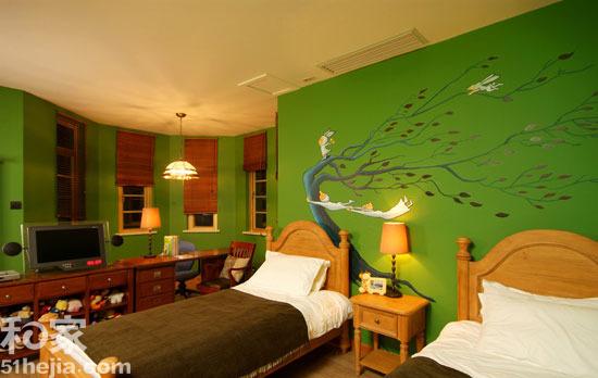 装修 效果图/孩子的梦幻乐园8款手绘背景墙缔造童趣