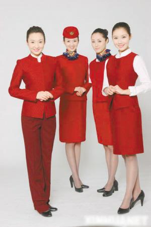 制成 揭开关于空姐制服的几个秘密图片