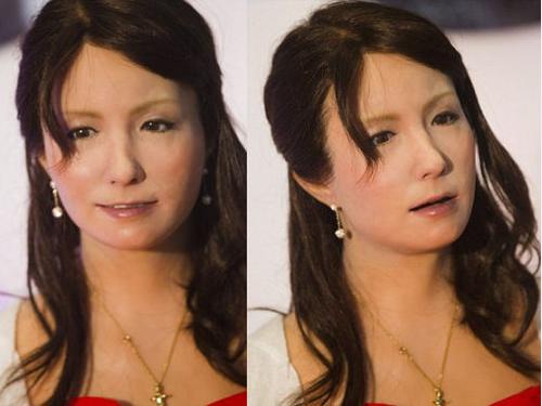 f机器人日本仿真美女机器人