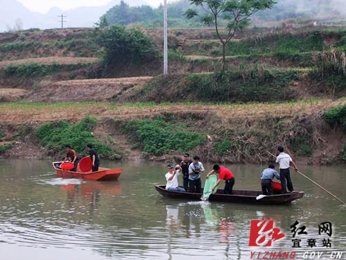 此次活动由白石渡镇白石渡村红色旅游管理委员会的一些村民自发组织