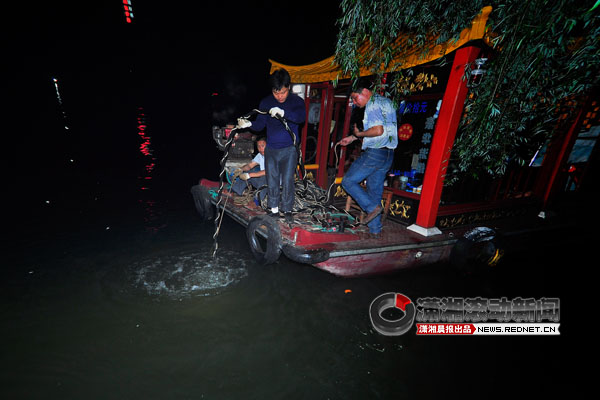 长沙烈士公园年嘉湖一男子溺水失踪 仍未搜救到