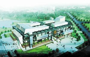 湘潭博物馆和规划馆主体建成