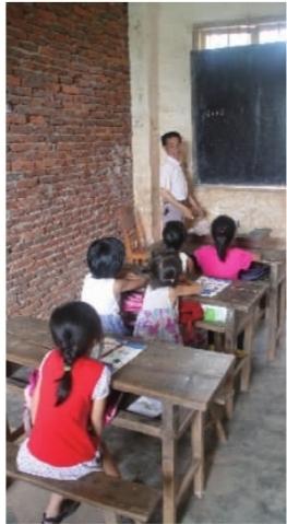 衡南鸟岛:1个老师和5个小女孩
