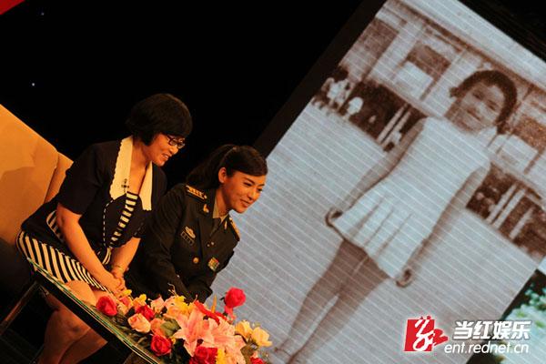 陈思思/陈思思做客军旅文化大视野与姐姐胡波畅谈童年趣事