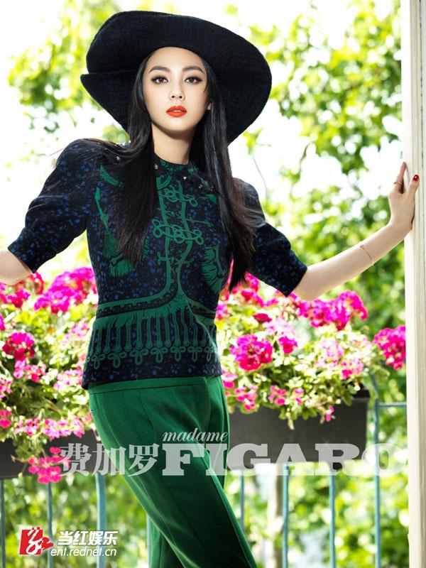 张雨绮大尺度家居写真 化身娇贵黑色兔女郎图