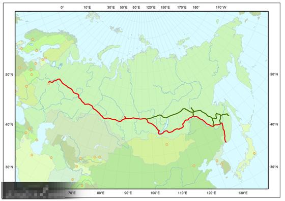 世界最长的铁路:西伯利亚大铁路(组图)