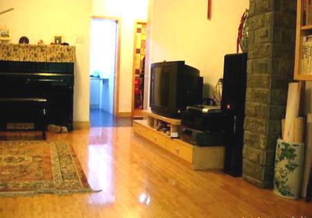 50平方装修效果图:客厅另一面.高清图片
