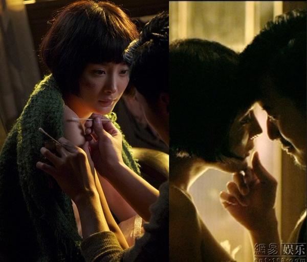 杨幂电影激情戏盘点:爆乳 与谢霆锋演床戏 娱