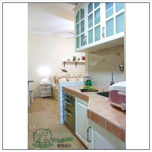 30平米房子装修设计图 现代两居室快乐又幸福 高清图片
