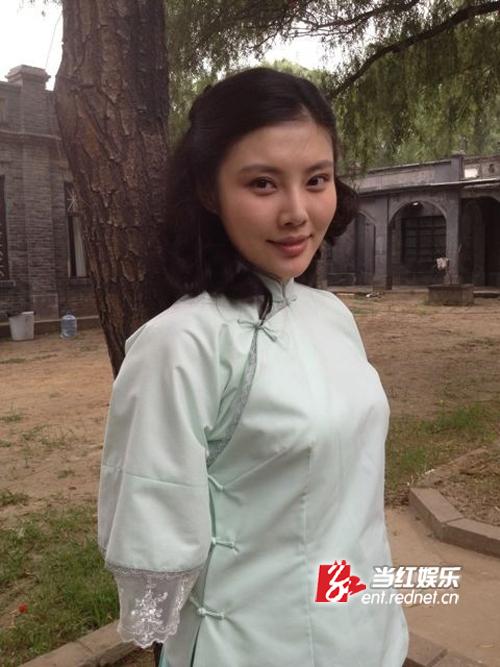 女星徐冬冬新剧造型曝光