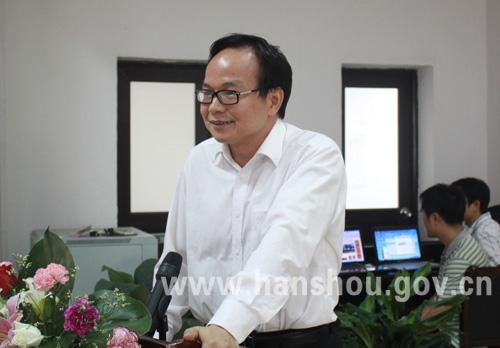 红网副总经理孔泽平讲话