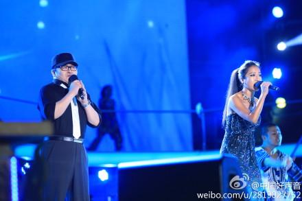 中国好声音——梦想巅峰之夜 - 柔儿 - 海内存知己 天涯若比邻