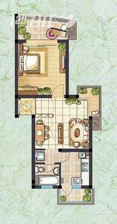 房屋结构图