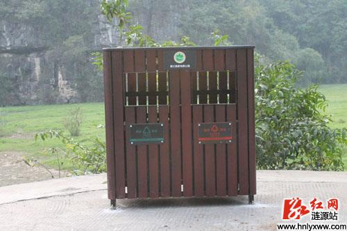 公园景区环保垃圾箱