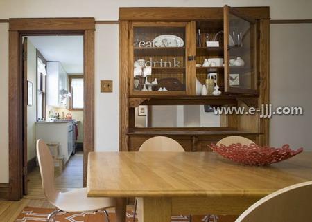 装修 效果图 酒柜/家庭酒柜装修效果图:利用转角的空间打造这么个性的小酒柜,不...