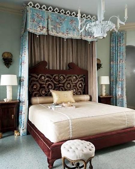 卧室家具摆放效果图