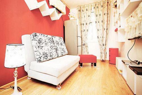 50平米小户型挤出2室2厅 功能齐全小户型装修案例.这套50高清图片
