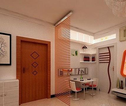 玄关屏风隔断效果图 家居空间有妙招 高清图片
