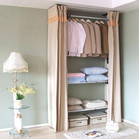 """女人 衣柜 装修/卧室衣橱效果图:用""""女人的衣柜里面永远少一件衣服""""这句话来..."""