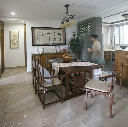 中式风格客厅手绘图