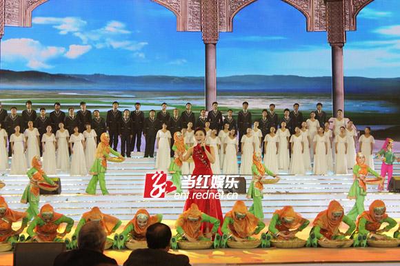 献唱曲目《宁夏川我可爱的家乡》精彩的演唱和莫言