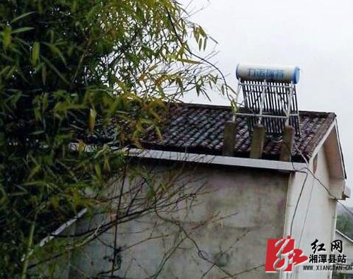湘潭县:太阳能广泛使用 村民得实惠环境更美化