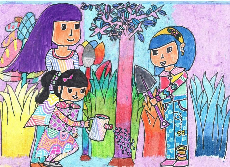 教小孩子画画
