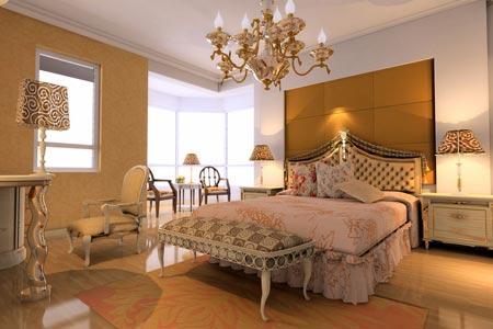 欧式风格装修风格:公主卧室