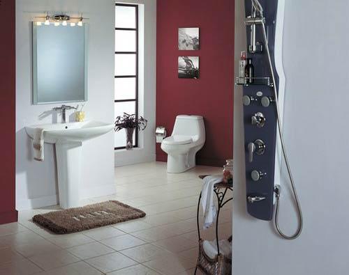 家庭卫生间装修效果图 最美空间秀_家居频道_