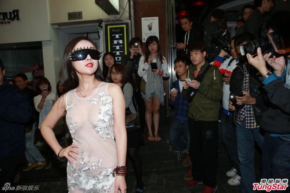 视频干露露胸降香港愿倒贴陈冠希拍床戏 红网