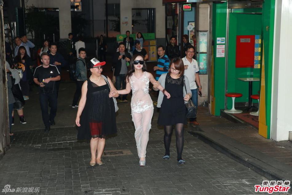 视频干露露胸降香港 愿倒贴陈冠希拍床戏 红