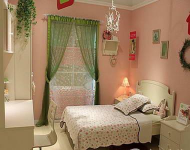 欧式家装效果图 温馨舒适的儿童房