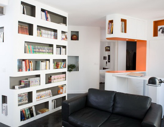 50平方米装修样板房 超完美的公寓 高清图片