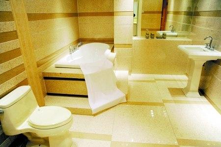 欧式洗手间效果图 通身的贵族气派惹人喜欢 高清图片
