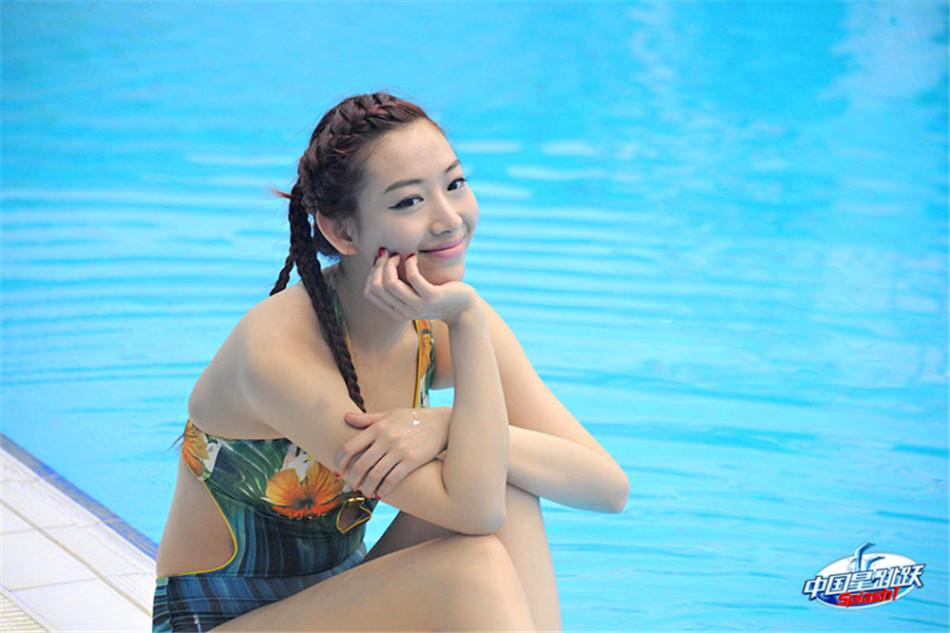 女神温雅被封跳水维纳斯组图 时尚中国