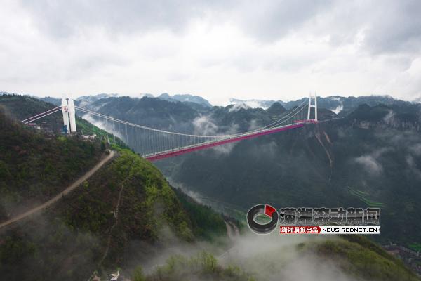 [资讯] 看交通科技成果 上矮寨大桥观光(09P) - 路人@行者 - 路人@行者