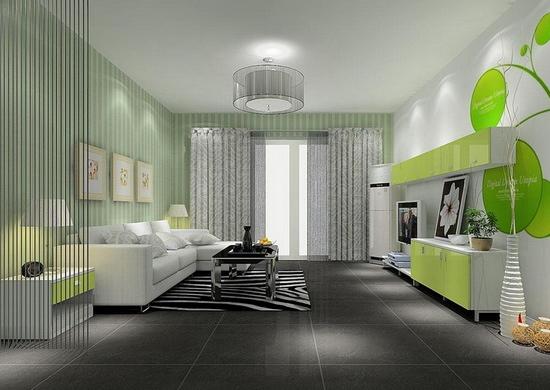 小户型客厅效果图 打造一个好门面高清图片