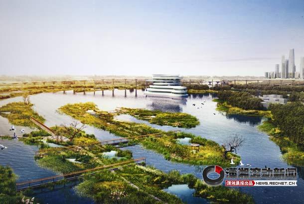 (长沙苏圫垸湿地公园设计方案之一零能耗生态住宅小区.)