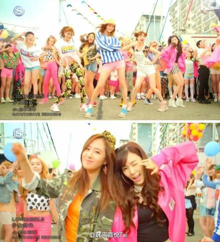 [战舰]韩国时代视频单曲日文《LOVE&GIRLS拆包少女少女教程图片