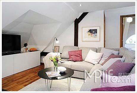 复式家装设计 65平小公寓装修效果
